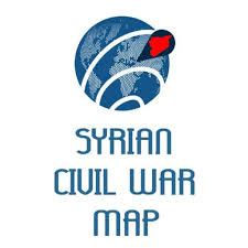 syrian civil war map live middle east map of the syrian civil war