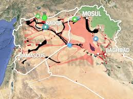 Syria Live Map by How Isis Spread Through Iraq And Syria Business Insider
