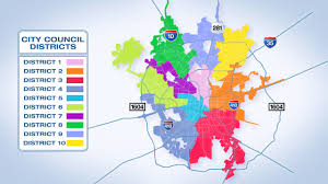 Utsa Map Find Your City Council District See Who U0027s Running In Each