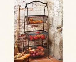 fruit basket stand metal fruit baskets foter