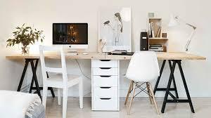fabriquer bureau fabriquer un bureau idées décoration intérieure