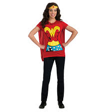 Marvel Female Halloween Costumes Ladies Superhero Shirt U0026 Cape Fancy Dress Costume Film Women U0027s