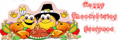 happy thanksgiving everyone smiley pilgrim smiley indian turkey