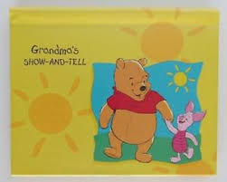 winnie the pooh photo album s show and tell hallmark brag book photo album winnie the