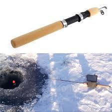 ultra light ice fishing rods 100cm ultralight pocket winter ice fishing fish rod mini tackle
