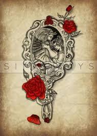 beauty and the beast rose tattoo tat ideas pinterest beast