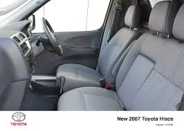 toyota hiace interior hiace lwb interior 2006 2012 toyota uk media site