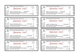ticket template free download unusual free concert ticket template photos resume ideas