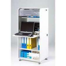 meuble bureau fermé meuble informatique ferme achat vente pas cher