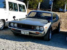 tuner cars cars movie 72 nissan skyline 2000 gt r kind of reminds me of some of the