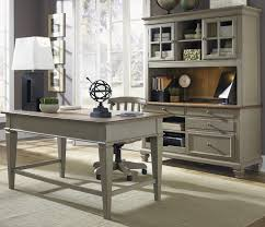 Executive Desk And Credenza Jr Executive Credenza With Hutch By Liberty Furniture Wolf And