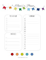 free printable daily planner template you can choose the