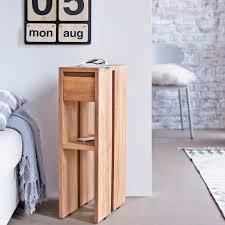 Plywood Bedside Table by Eden Teak Bedside Table 1 Drawer Bedside Table Sale At Tikamoon