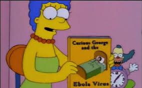 curious george ebola virus simpsons notebook bestplayever