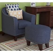 barrel chair with ottoman damann barrel chair and ottoman red barrel studio