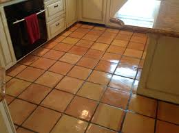 Kitchen Floor Cleaner by A Kitchen Floor Laid With Terracotta Tilesclay Tile Cleaner Clay