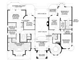single house plans with 2 master suites single 6 bedroom house plans 3 two with 2 master 9