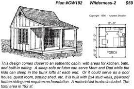 sheldon designs wilderness cabin cabin house plans