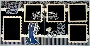 wedding scrapbook pages blj studio wedding scrapbook pages