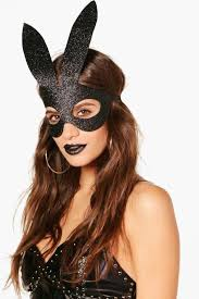 bunny mask glitter bunny mask boohoo