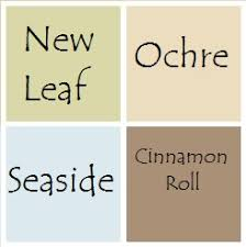 paint scheme for the house all are valspar signature colors from