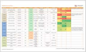 excel templates daily planner free excel downloads templates monthly content action plan template