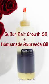 sulfur hair growth oil recipe growth oil hair oil and hair loss