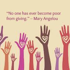 quotes by maya angelou about friendship no one has ever become poor from giving