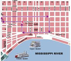New Orleans Parade Routes Map by The 34th Annual