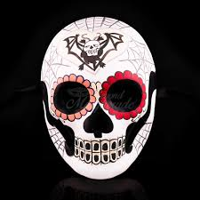 day of the dead masks day of the dead mask dia de los muertos masquerade mask batz