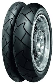 Double White Wall Motorcycle Tires Continental Trail Attack 2 Tires Revzilla