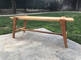 Outdoor Modern Bench Foureyes Furniture Shows You The Step By Step Process To Build A