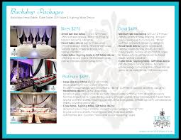 wedding decor services on luxe weddings and events