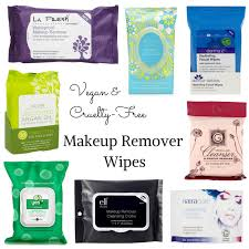 vegan makeup remover wipes