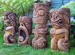 polynesian wood carving los mejores tikis hawaiian totems and tiki tiki