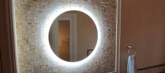 4 led lights mirror circle round led light mirror fancy glass stores wholesale trader in