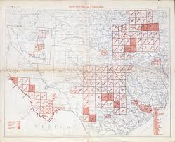 Map Of The State Of Texas Texas Topographic Maps Perry Castañeda Map Collection Ut