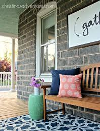 decorate front porch front porch decorating christinas adventures