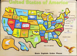 usa map states map united states learning boaytk usa map 50 puzzle in us