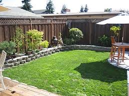 Landscape Design Ideas For Small Backyards  Small Backyard Ideas - Backyard landscaping design