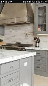 light gray kitchen cabinets with granite light gray with travertine backsplash travertine
