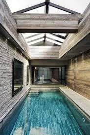 Indoor Pool Design Long And Narrow Indoor Pool In This Italian Mansion Home