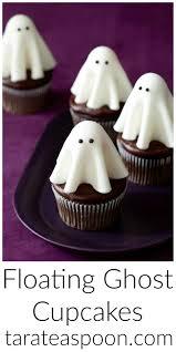background halloween repeating ghosts floating ghost cupcakes u2022 tarateaspoon