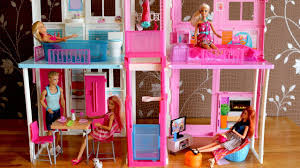barbie dolls living room barbie kitchen dollhouse furniture set