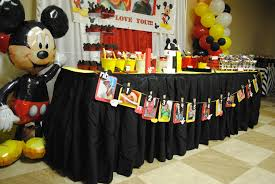 Mickey Mouse Center Pieces Liam U0027s Mickey Mouse 1st Birthday Favors U0026 More Llc