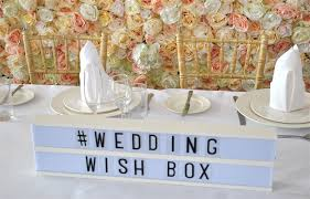 wish box wedding wedding wish box in bedfordshire decorative hire hitched co uk