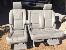 Toyota 60 40 Bench Seat Chevrolet Tahoe Questions Change 2nd Row Bench Into Captain U0027s