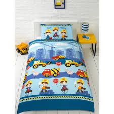 Single Bed Sets Single Duvet Set Construction Bedding B M