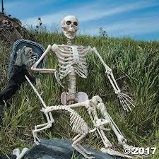 Halloween Decorations Life Size Skeleton by Best 25 Posable Skeleton Ideas On Pinterest Felt Farm Animals