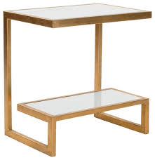Contemporary Accent Table Safavieh Kennedy Accent Table Contemporary Side Tables And End